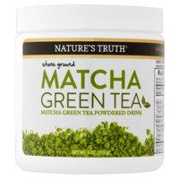 Nature's Truth Matcha Green Tea Powder, 4.0 Oz