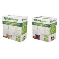 FoodSaver V3880 Vacuum Sealer Wide Mouth, Regular Jar Sealers Kit
