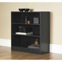 """Mainstays 32"""" Wide 3-Shelf Bookcase, Multiple Finishes"""