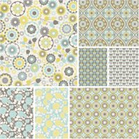 """David Textiles Happiness Collection 44"""" Quilting Cotton Fabric By The Yard"""