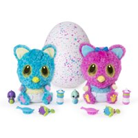 Hatchimals, HatchiBabies Cheetree, Hatching Egg with Interactive Toy Pet Baby (Styles May Vary), for Ages 5 and Up