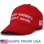 50d28c1c32e07 GTP Donald Trump Make America Great Again Hat USA Republican Baseball Red  Cap Embroidered