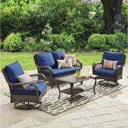 Better Homes & Gardens Colebrook 4 Piece Outdoor Conversation Set