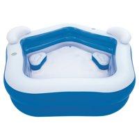 "H2OGO! Family Fun Inflatable Kiddie Pool, 7' x 6'9"" x 27"""