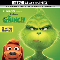 Illumination Presents: Dr. Seuss' The Grinch (4K Ultra HD + Blu-ray + Digital Copy)