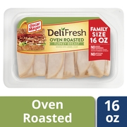 Oscar Mayer Deli Fresh Oven Roasted Turkey Breast Family Size, 16 Oz.