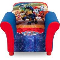 Delta Children Nick Jr. Paw Patrol Upholstered Toddler Chair with Side Pockets