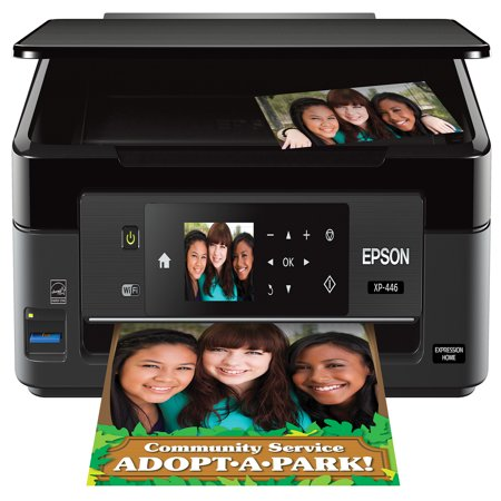 Epson Expression Home XP-446 Small-in-One Printer 4000 Page Black Copier
