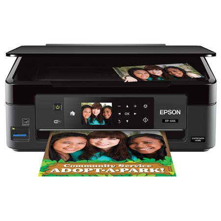 Epson Expression Home XP-446 Small-in-One Printer Dell 1100 Laser Printer