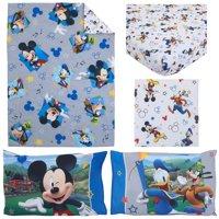 Disney Mickey Mouse Having Fun 4-Piece Toddler Bedding Set