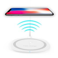 Qi Fast Wireless Charging For Apple iPhone X Wireless Quick Charger Fast Charge 10W for iPhone X, iPhone 8, iPhone 8 Plus,Samsung Note 8, S6 Edge +, S7, S7 Edge, S8 and S8 Plus, etc. by Ixir