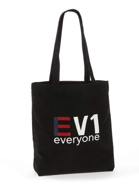 "EV1""Everyone"" Canvas Market Tote"