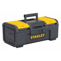 """Stanley Hand Tools STST16410 16"""" Black & Yellow Auto Latch Tool Box"""