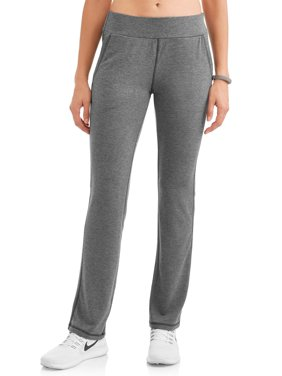 Women's Active French Terry Contrast Trim Relaxed Fit Pant