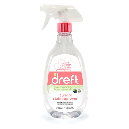 (2 pack) Dreft Laundry Stain Remover, 24 Oz