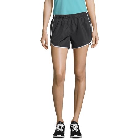 Capri Skirt (Sport Women's Performance Woven Running Shorts with Built in Liner )