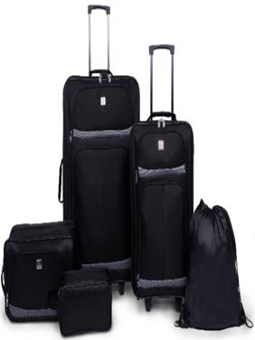 Protege 5 Piece 2-Wheel Luggage Value Set