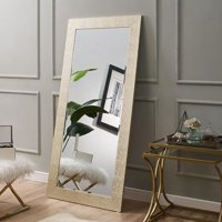 """Naomi Home Mosaic Style Mirror-Color:Gold,Size:65.5"""" x 31.5"""""""