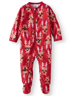Holiday Family Sleep Reindeer 2-Piece Pajama Set (Baby Boys or Baby Girls)
