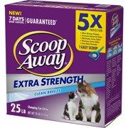 Scoop Away Extra Strength, Scented Cat Litter, 25 lbs