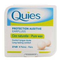 Quies Pure Wax Ear Plugs, 8 Pair (NRR 27dB)