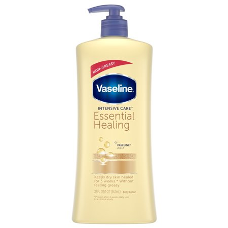 Vaseline Intensive Care Essential Healing Body Lotion, 32 oz - Intensive Nurturing Care