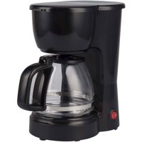Mainstays 5-Cup Coffee Maker (Black)