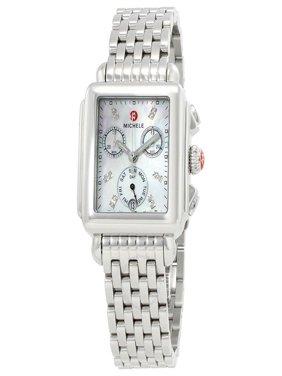 Michele Deco Day Diamond Ladies Watch MWW06P000014