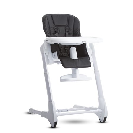 Joovy Foodoo Baby Height Adjustable High Chair, Black Acorn Back High Chair
