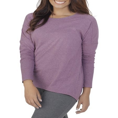 Women's Essentials Soft Long Sleeve Scoop Neck T-Shirt