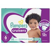 Pampers Cruisers Diapers (Choose Size and Count)