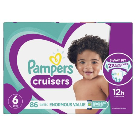 Pampers Cruisers Diapers Size 6 86 Count Bumkins All In One Diapers