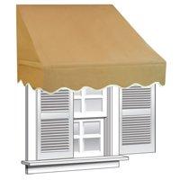 ALEKO 6' x 2' Window Awning Door Canopy (12 sq. ft Coverage)