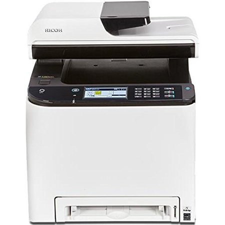 Ricoh SP C261SFNw Color Laser Multifunction Printer with Duplex (Samsung Laser Multifunction)