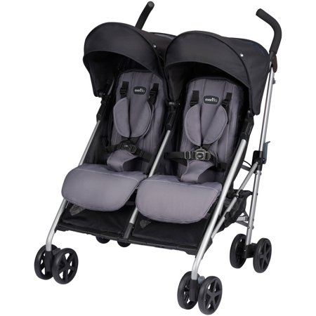 Evenflo Minno Twin Lightweight Double Stroller, Glenbarr - Kolcraft Double Strollers