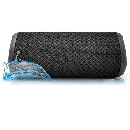 Photive HYDRA II Bluetooth Speaker Wireless Waterproof Portable Audio. 10-Watt Dual Subwoofer. 10-Hours of Continuous Play.