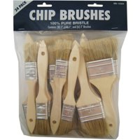Gam BB12324 Chip Paint Brushes Assorted 24 Count