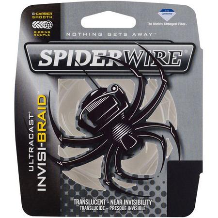SpiderWire Ultracast Invisi-Braid Fishing (Best Spiderwire Monofilament Lines)