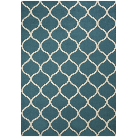 Mainstays Sheridan Fret Olefin High Low Loop Tufted Area Rug or Runner (Floor Runners By The Foot)