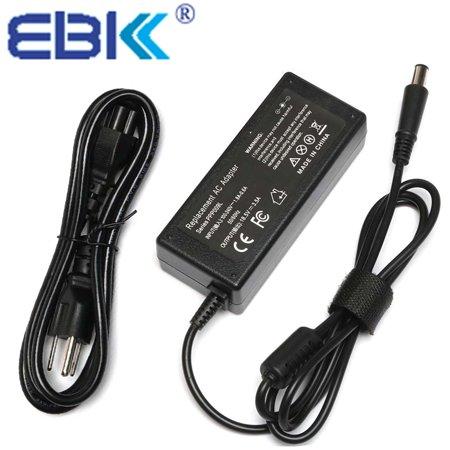 EBK 18.5V 3.5A 65W AC Adapter Charger power Supply for HP PPP009H, PPP009C,PPP09L,TPC-CA58,HP-OK065813 for HP Compaq Presario CQ40 Series CQ40-318TU, CQ40-536TX, CQ40-122AX Laptop