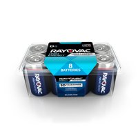 Rayovac High Energy Alkaline D Batteries, 8 Count