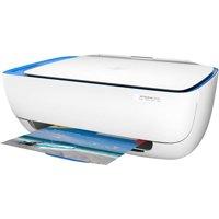 Refurbished HP DeskJet 3630 All-in-One Wireless Printer, Blue