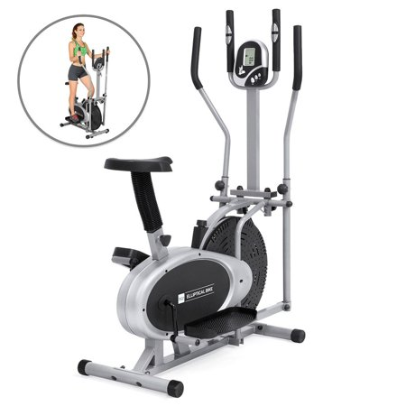 Best Choice Products Elliptical Bike 2-in-1 Cross Trainer ...