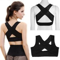 Adjustable Elastic Back Women Belt Support Posture Corrector Brace Support