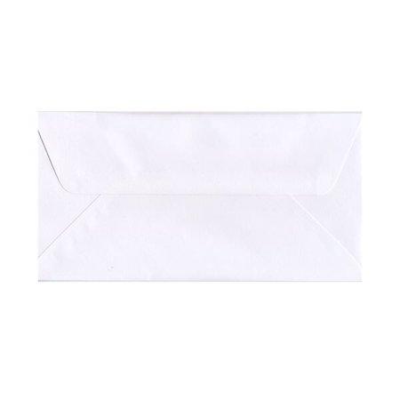 JAM Paper #16 Wallet Flap Business Envelopes, 6 x 12, White, - Wallet Flap Envelope