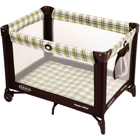 Graco Pack 'n Play Portable Playard, (Fold Portable Play Yard Crib)