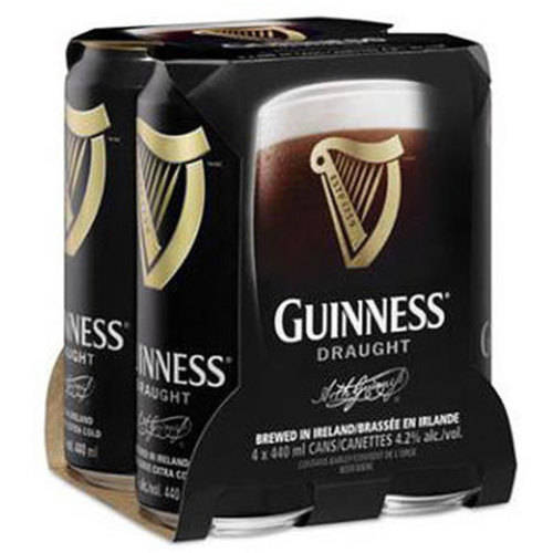 Guinnes Draught Beer, 4 pack, 14.9 fl oz