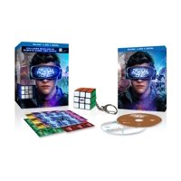 Ready Player One (Walmart Exclusive) (Blu-ray+ Digital HD + Rubik's Cube & Sticker Sheets)