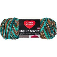 Red Heart Super Saver Yarn-Reef