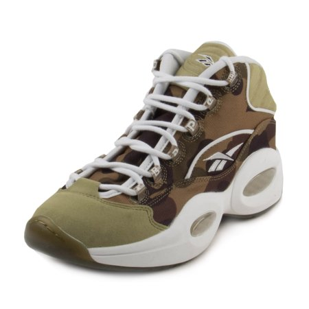 Reebok Mens X Bape Question Mid - Ready to ship Camo/White-Grey BD4232